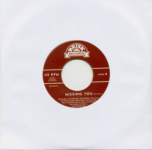 Missing You (7inch, 45rpm)