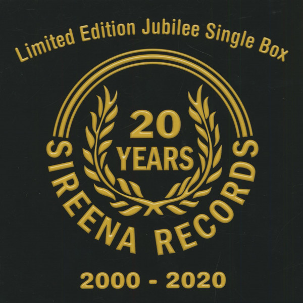 Sireena Jubilee Single Box (5x7inch, 45rpm, Ltd.)