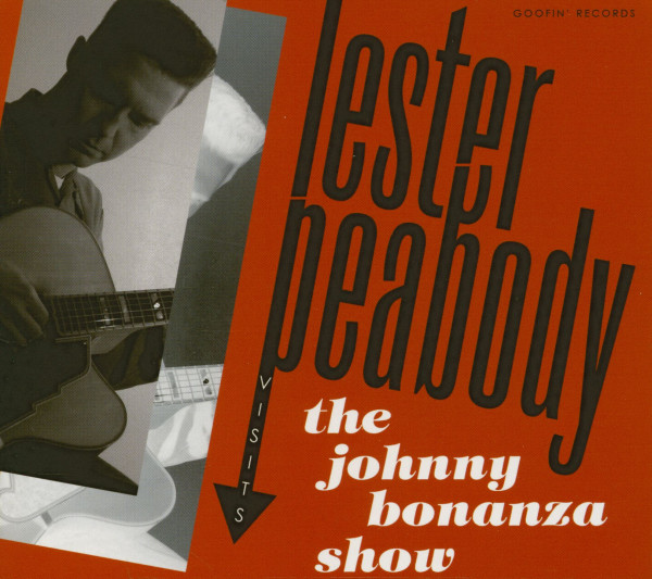 Lester Peabody Visits The Johnny Bonanza Show (CD)