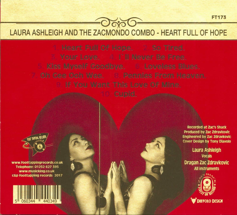 Laura Ashleigh The Zacmondo Combo Cd Heart Full Of Hope British General Fuse Box
