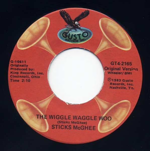 Wiggle Waggle Woo - Double Crossin Liquor 7inch, 45rpm