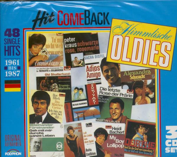 1961-1987 Himmlische Oldies 3-CD