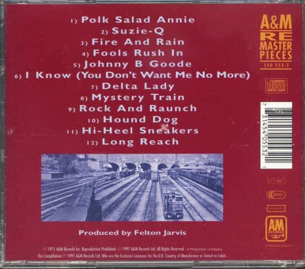 The Guitar Sound Of James Burton (CD)