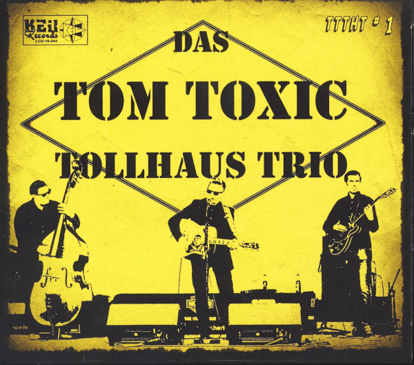Das Tom Toxic Tollhaus Trio - TTTHT No.1 (CD, Ltd.)