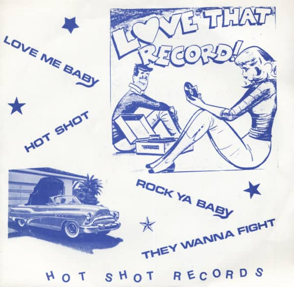Love That Record 7inch, 45rpm, EP, PS