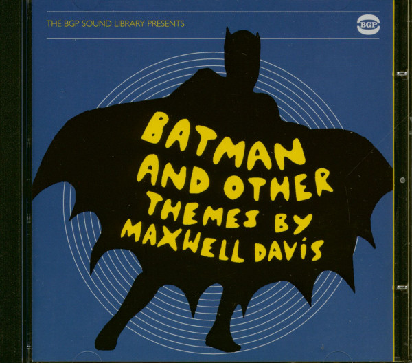 Batman And Other Themes By Maxwell Davis - The BGP Sound Library Presents (CD)