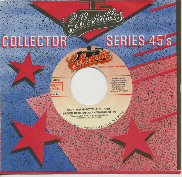 Baby (You've Got What It Takes) - A Rockin' Good Way (To Mess Around And Fall In Love (7inch, 45rpm, BC, CS