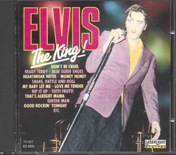 Elvis Presley - Elvis The King! (CD)