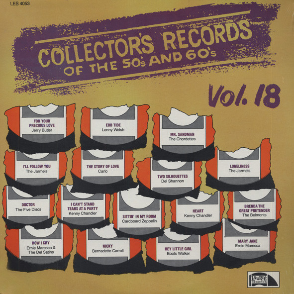 Collector's Records Of The 50s & 60s Vol.18