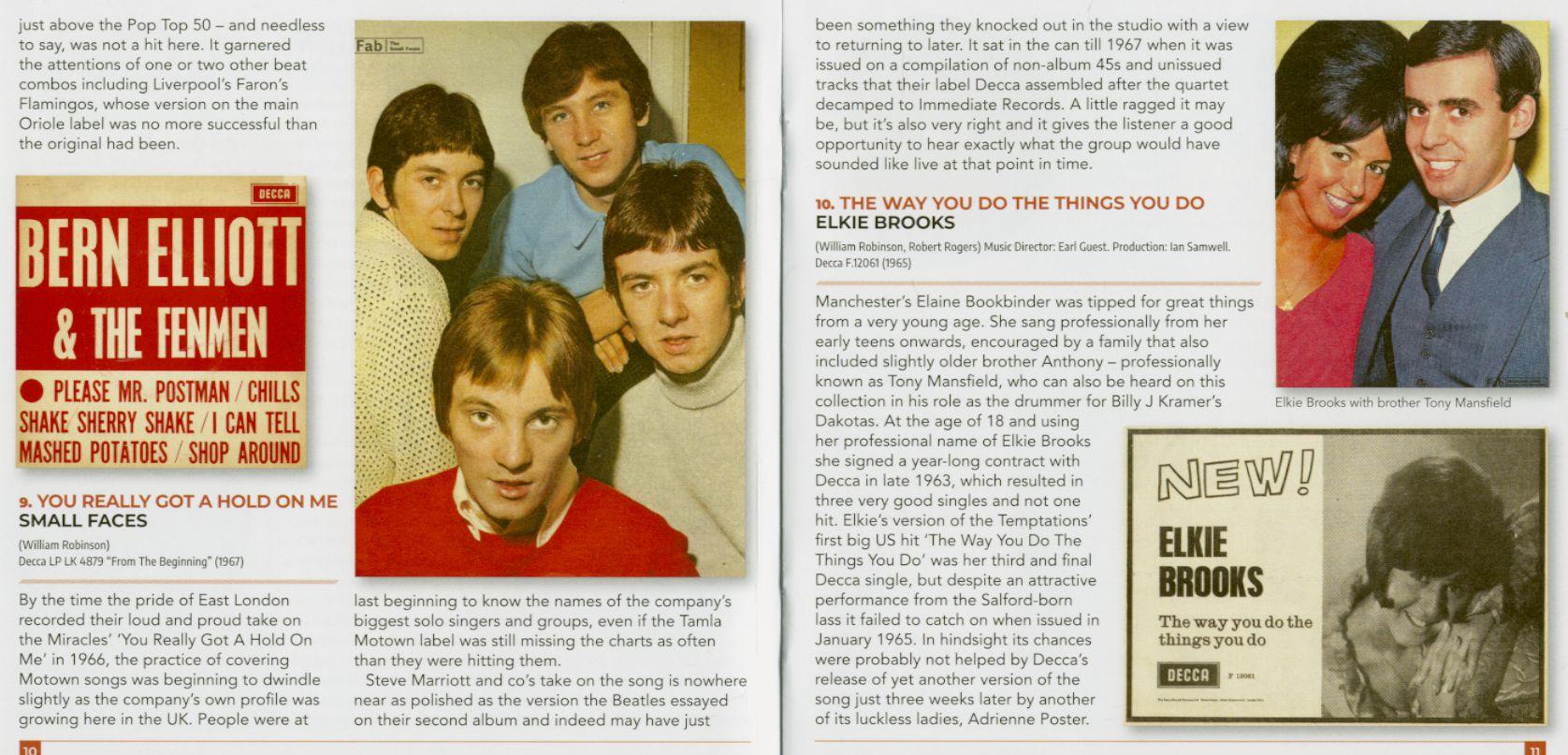 Various On The Detroit Beat - Motor City Soul UK Style 1963-67 (CD)