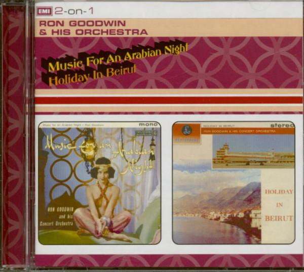 Music For An Arabian Night - Holiday In Beirut (CD)