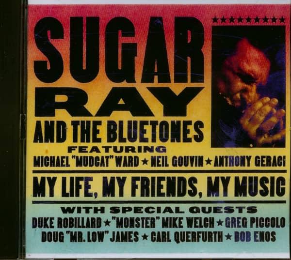 My Life, My Friends, My Music (CD)