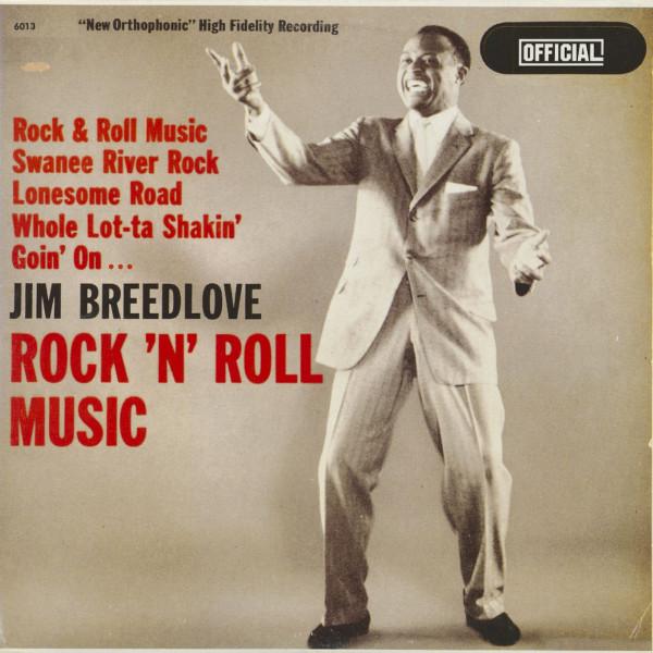 Jim Breedlove Sings Rock 'n' Roll Hits (LP)