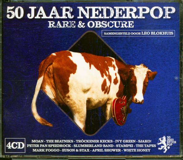50 Jaar Nederpop - Rare & Obscure (4-CD)