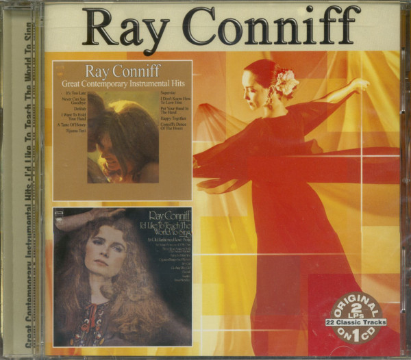 Great Contemporary Instrumental Hits & I'd Like To Teach the World To Sing (CD)