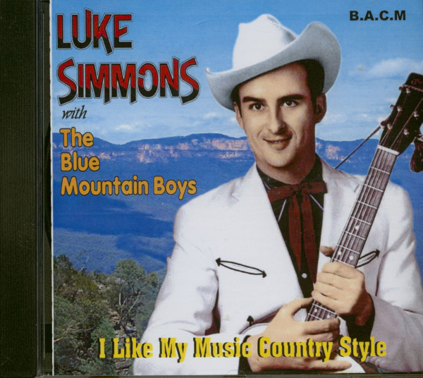 Luke Simmons CD I Like My Music Country Style CD