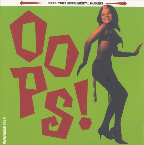 Va Va Voom, Vol.5 - Oops! 16 Early 60's Instrumental Shakers