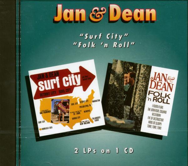 Surf City & Folk & Roll (CD)