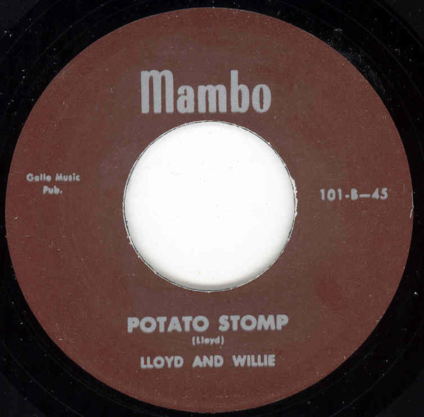 Don't Know Where She Went - Potato Stomp 7inch, 45rpm