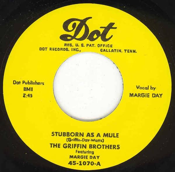 Stubborn As A Mule - I Wanna Go Back 7inch, 45rpm