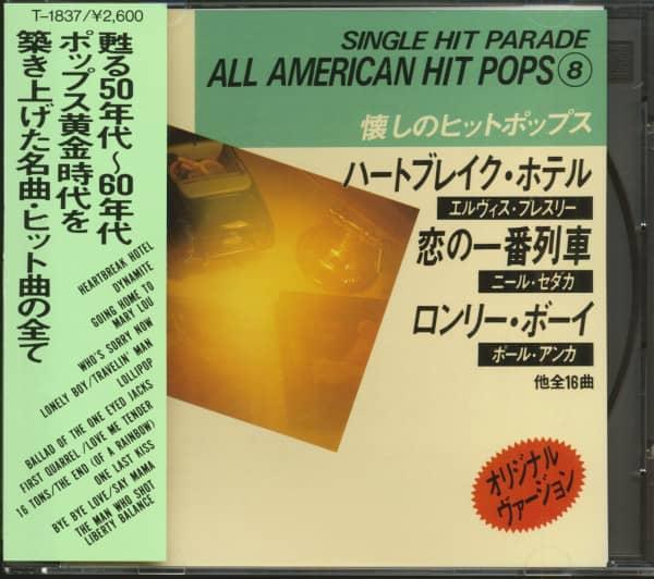 Single Hit Parade - All American Hit Pops 8 (CD, Japan)