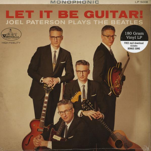 Let It Be Guitar - Joel Paterson Plays The Beatles (LP & Download Code)