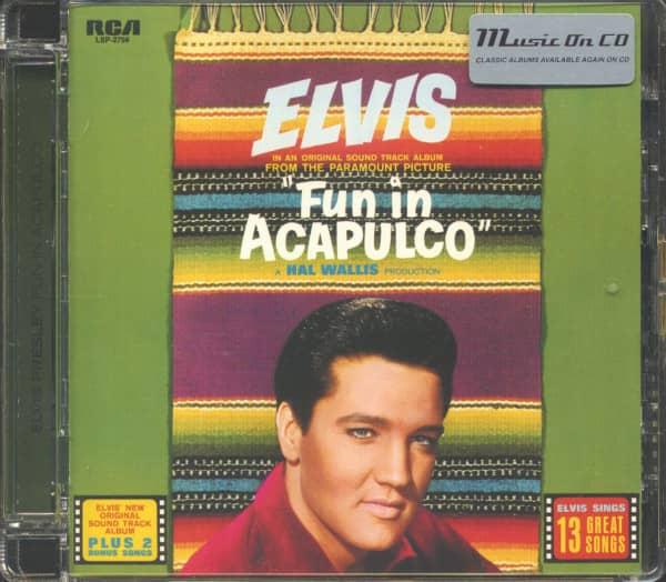 Fun In Acapulco (CD Soundtrack, EU Version)