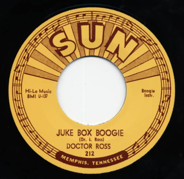 The Boogie Disease b-w Juke Box Boogie 7inch, 45rpm