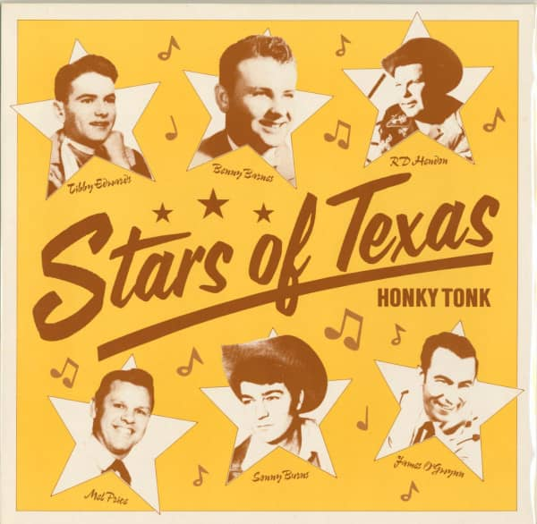 Stars Of Texas Honky Tonk (LP, Ltd.)