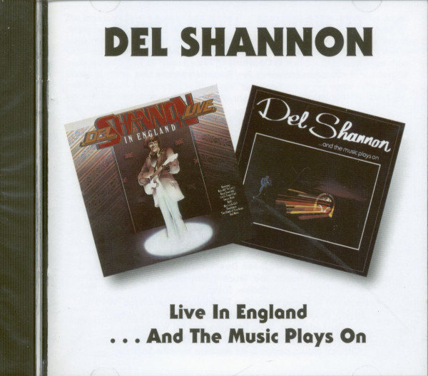 Live In England - And The Music Plays On (CD)