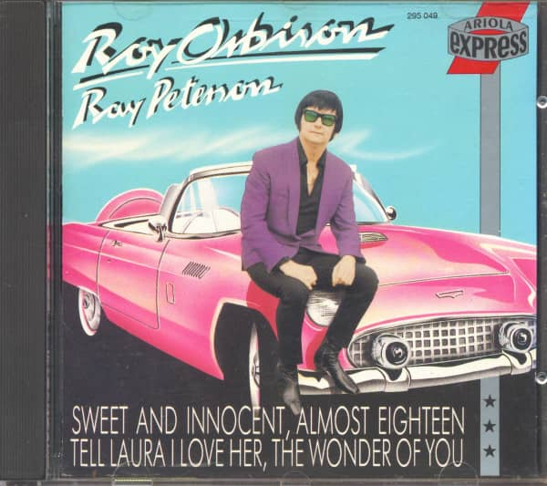 Roy Orbison Amp Ray Peterson Cd Roy Orbison Amp Ray Peterson