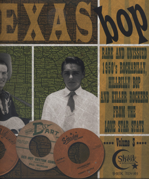 Texas Bop Vol.3 (25cm LP)