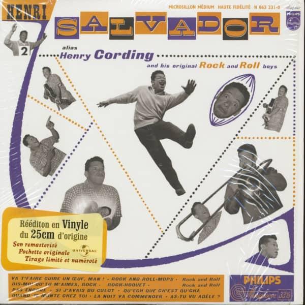 Henri Salvador Alias Henry Cording (10inch LP, Limited Edition)