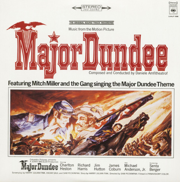 Major Dundee - Soundtrack (LP)
