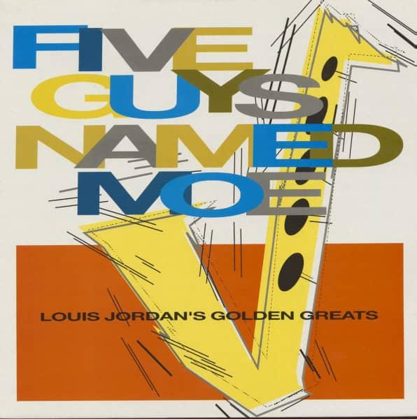 Five Guys Named Moe - Louis Jordan's Golden Greats (LP)