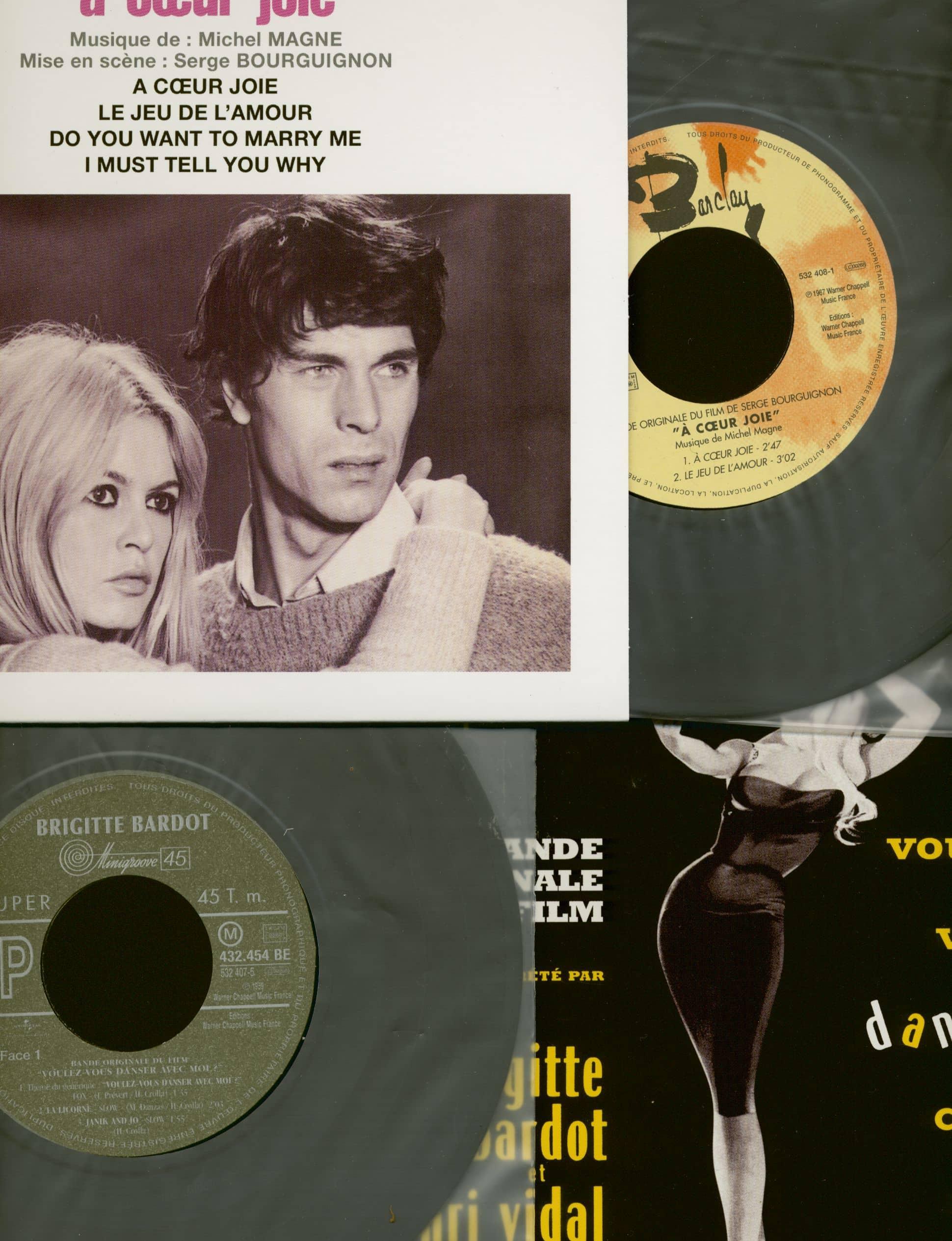 Brigitte Bardot 7inch Musiques De Films 11x7inch 45rpm Ps Box