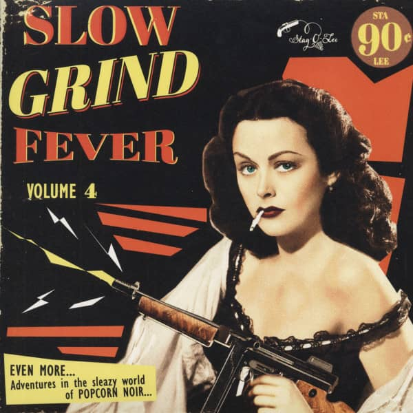 Slow Grind Fever Vol.4 (LP)