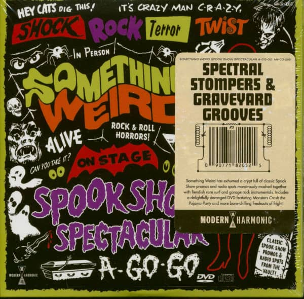 Something Weird Spook Show Spectacular a Go-Go (CD+DVD)
