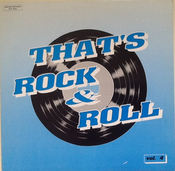 Vol.4, That's Rock & Roll