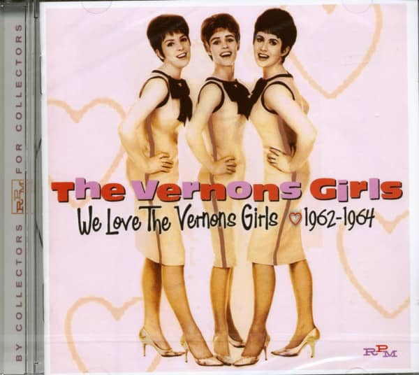 We Love The Vernons Girls 1961-64 (CD)