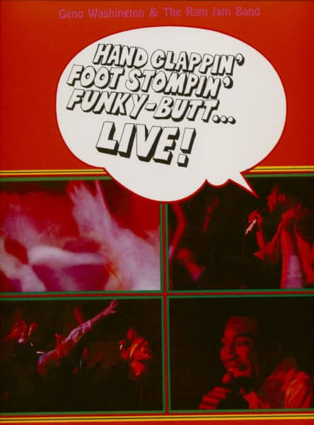 Geno Washington And The Ram Jam Band (2-LP, 180g Vinyl)