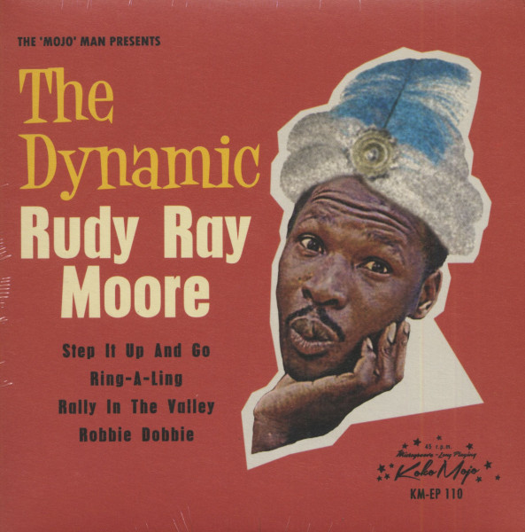 The Dynamic Rudy Ray Moore (7inch, EP, 45rpm, PS)
