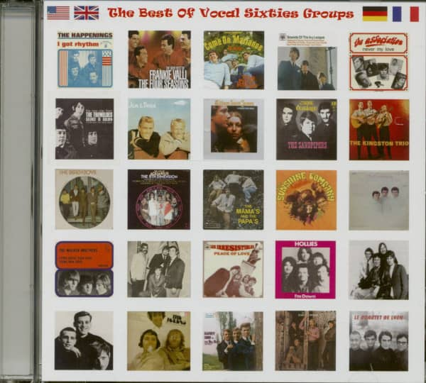 The Best Of Vocal Sixties Groups (CD)