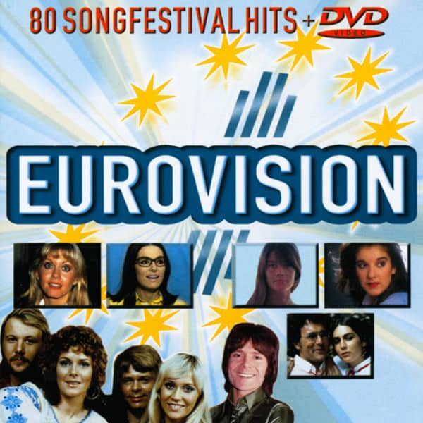 Eurovision 4-CD & 1-DVD Set
