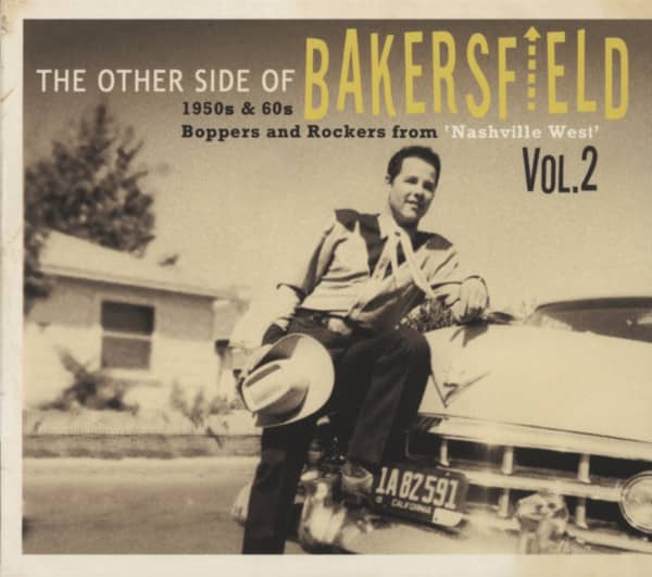 Vol.2, (CD) 1950's & 60's Boppers and Rockers from 'Nashville West'