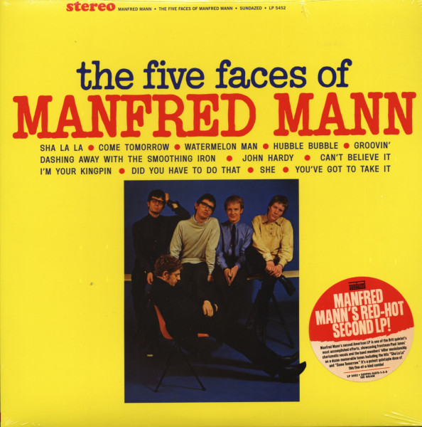 Five Faces Of Manfred Mann 1965 (180g)