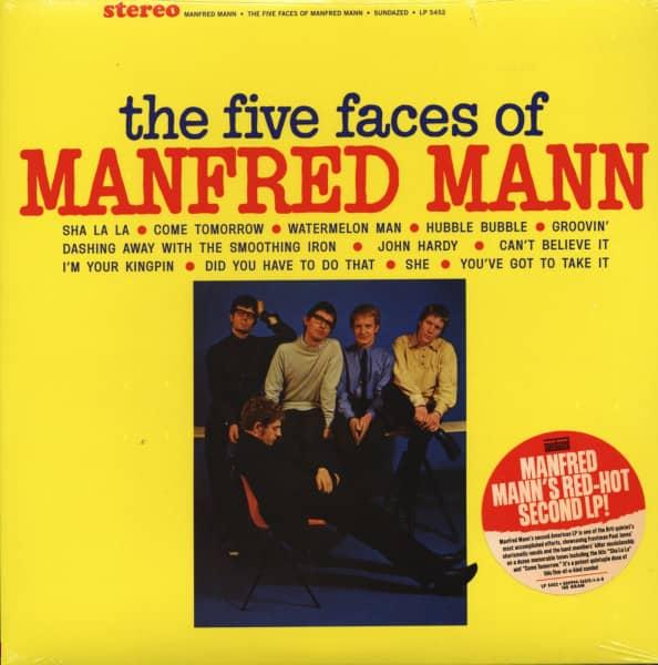 Five Faces Of Manfred Mann 1965 (LP, 180g Vinyl)