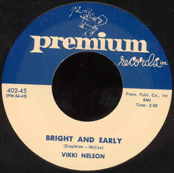 Bright And Early - By My Side 7inch, 45rpm