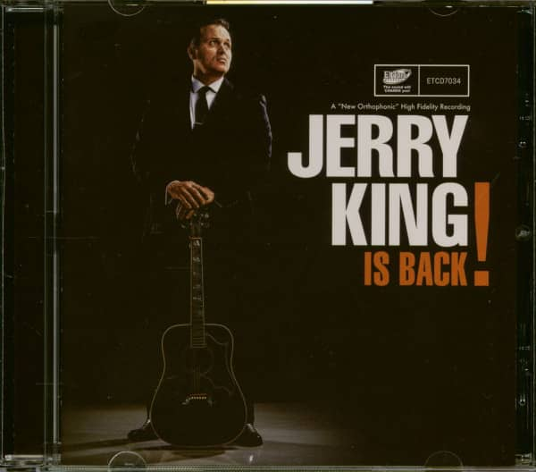 Jerry King Is Back! (CD)