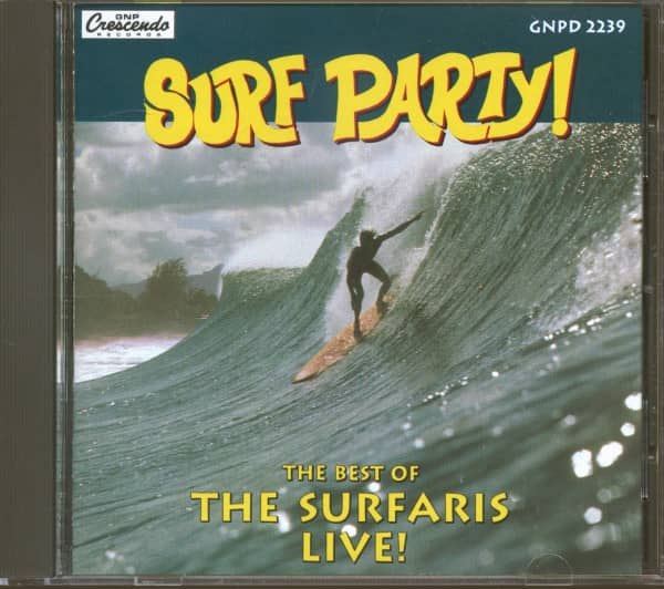 Surf Party! - The Best Of The Surfaris Live! (CD)